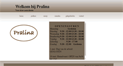 Preview of pralina.be
