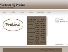 Tablet Preview of pralina.be